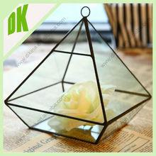 Single DIY Terrarium Kit Light Bulb Terrarium You Create Yourself // custom geometric gold plated glassware sets