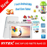Google Dual Core 7 inch 3G Tablet Generic Android Tablet
