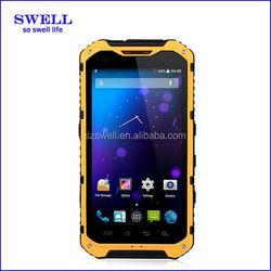 4.3inch IPS Quad core dustproof waterproof shockproof A9 rugged mobile phone
