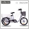 MOTORLIFE/OEM 36V 250W double electric bikes three wheel