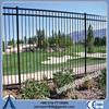 Decorative wrought iron fence/short wrought iron fence/black wrought iron fence for sale