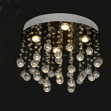 modern K9 crystal ceiling chandelier light