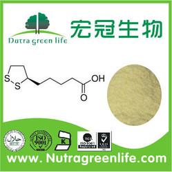 Alpha Lipoic Acid,health food antioxidants,cosmetic material CAS:1077-28-7