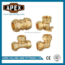 APEX High Quality Brass Pipe Fittings For Copper Pipe