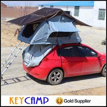 Camper van own roof tent aluminum base soft car roof top tents with changing room for sale