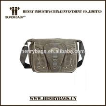 lona bolsa de ombro homens compartimento grande mensageiro saco de lona