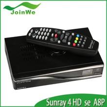 sunray sr4 a8p sim card Linux decoder sunray4 hd se sr4 DVB-S(S2)/C/T triple tuner Wifi sunray 800 hd seRev D6 & D11 In Stock