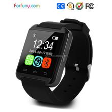 OEM Manufacture Plastic Digital Smart Bluetooth U8 Watch Mobile Phone with Pedometer