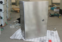 BAK stainless steel perforated distribution panel box IP65