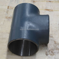 carbon steel tee asme b16.9 straight tee Brand name