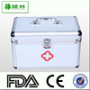 Aluminum First-aid kit BOX / Emergency Medical Kit BOX / Medicine Box Storage Tin case