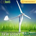 Energia renovável 3KW gerador de energia eólica residencial preço