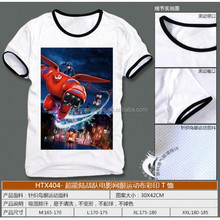 Big Hero 6 Anime white T shirts (M/L/XL/XXL)