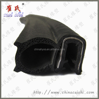 Car door weather EPDM pipe ship rubber gaskets made in China for high demand