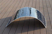 180W flexible solar panel thin and light weight