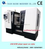 CK6187W AWR3050 mag wheels for cars cnc lathe machine