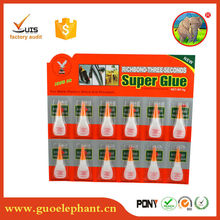 Hot selling cheap price super glue for shoes