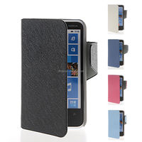 Slim Fit Flip Wallet Card Pouch Stand Leather Case Cover For Nokia Lumia 620