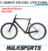 Top Quality Cheap 700C Carbon Road Bike Frame Chinese Carbon Bike Frame Made In China Carbon Firber OEM Carbon Road Bike Frame