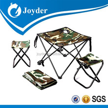Beautiful updated baseball foldable chair and table set