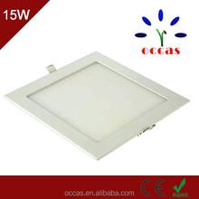 High quality 15W square led panel light