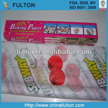 China Facotry FDA High Quality Waxed Paper For Packing