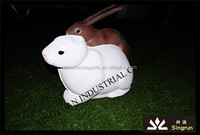 Life-like and vivid 3D animal shooting targets of rabbit shooting archery targets
