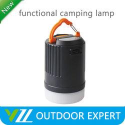 Small LED Camping Lantern USB Portable Charger 18650 Li-on Rechargeable Camping Lantern