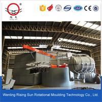 Machine 3A-2500 rotomolding making,plastic diesel fuel tank