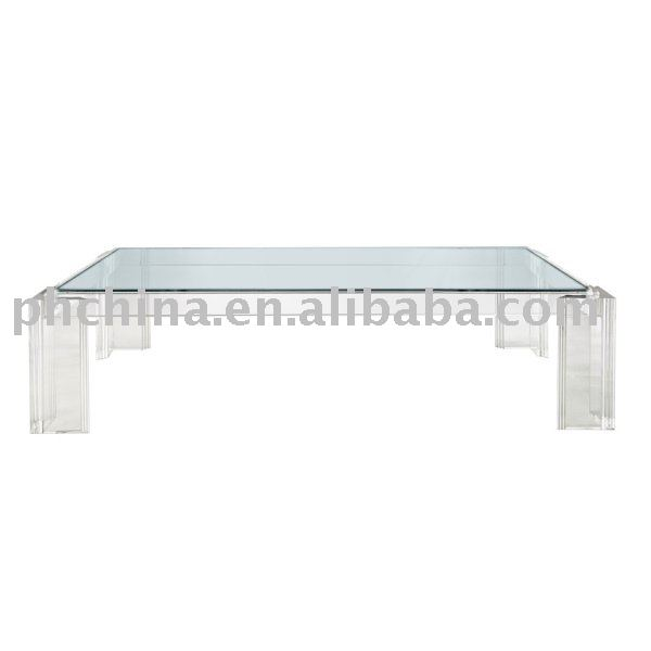 Top;Acrylic Queen Anne Cocktail Table;Clear Lucite Table, View acrylic ...