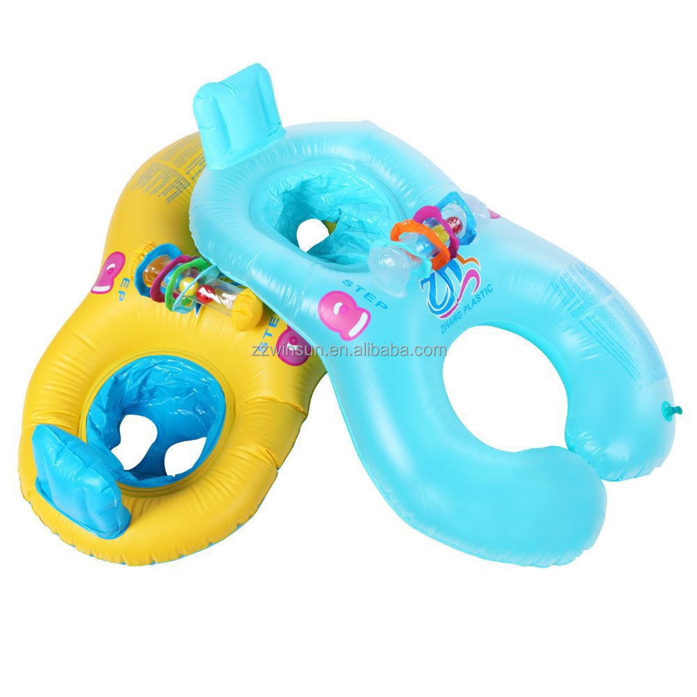 Inflatable Twin Baby Double Swim Float Seat For Sale - Buy ...