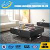 2015 Latest ebony veneer rectangular coffee table #C2007S01-M3