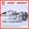 2015 C ree LED Headlight Kit 38W x 2 H4 H13 9004 9007 LED Bulbs Pair