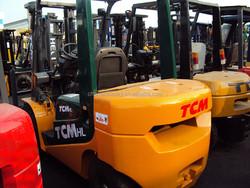 Used TCM forklift 3ton FD30, diesel forklift 3ton TCM FD30,Japan original for sale