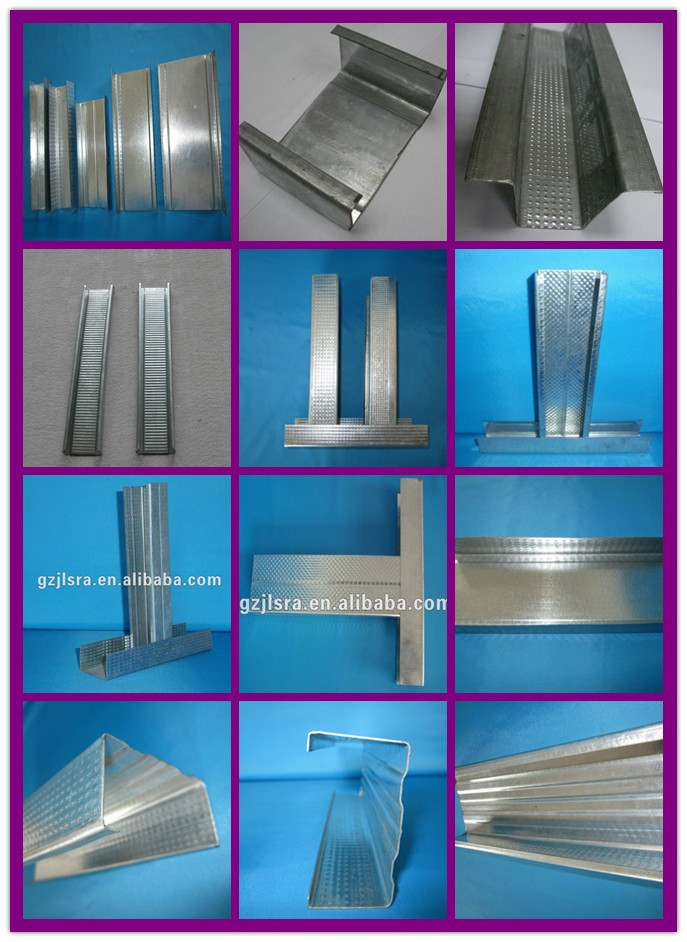 Popular Hot Sell Drywall Profiles Metal Stud Wall
