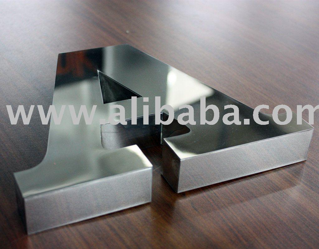 3d Letter Stainless SteelAluminiumPlaxiglass