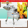 CD-800 Automatic Tomato dicing machine by stainless steel/Vegetable Cuber Cutting machine
