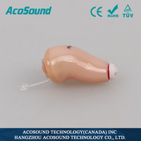 AcoSound AcoMate 410 CIC Oem Deaf Well Sale Standard Ce Approved Manufacture Digital Behind The Ear Hearing Aids