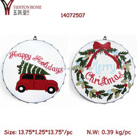Cute Ornaments Christmas Metal Trinket