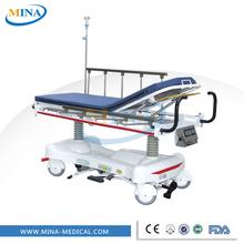 Mina- st003 hydraulischen aluminiumlegierung handläufe erste-hilfe-trage