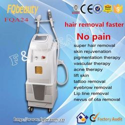 Hot sale black hair removal beuaty machinery laser +Elight epilator-FQA24 ce certification