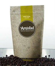 Moisture Proof Foil Plastic Coffee Bag Packaging With Ziplock For Cookies/plastic bags for rice packaging