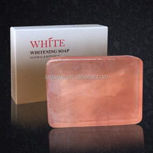 Hot Sale Handmade Natural Skin Care Lightening Effective Rose Best Whitening Soap for Shower Bath