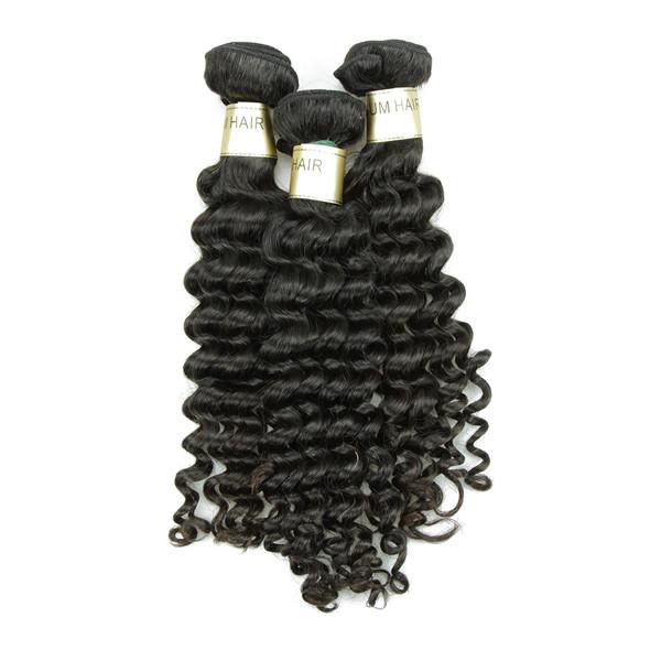 JP livraison shiping 8a année brésilienne de cheveux, Vague profonde cheveux humains bundles