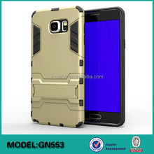 2 in 1 combo mobile phone back cover for Samsung Galaxy Note 5