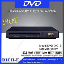 About 10 USD !! 215mm High Quality Mini cd dvd Player for middle east market !