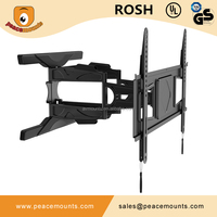 PMD600 ultra thin Aluminum material vesa manufacture articulating removable tv wall mount