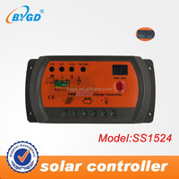 competitive price PWM 15A 12v 24v 48v solar charge controller
