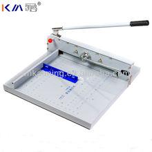 guillotina manual de corte de papel para la máquina de capa gruesa de china
