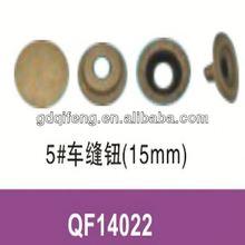 press metal moulding upholstered buttons
